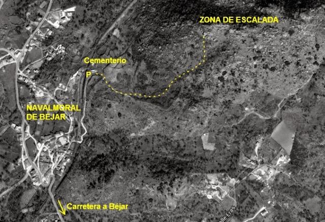 corvera mapa acceso